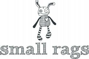 small rags logo, ragdoll